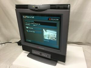 Polycom Vsx 3000 Video audio Conference System Monitor With Ac Adapte