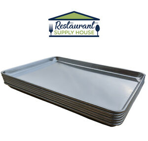 Commercial Grade Aluminum Sheet Pan 9 X 13 2 3 Size Pack Of 6 Free Shipping