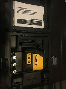 Dewalt Dw088 Self leveling Cross Line Laser
