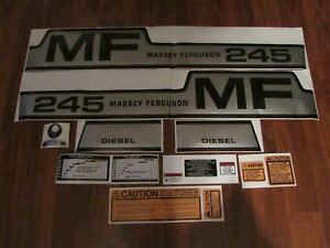 Massey Ferguson 245 Tractor Complete Decal Set
