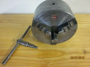 South Bend Lathe 8 3 Jaw Chuck D1 4 Mount free Shipping