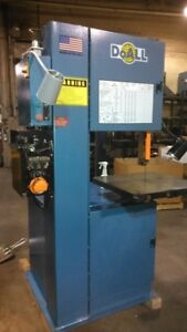 Doall 2013 v Vertical Band Saw New 2008