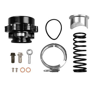 New Car Turbo Blow Off Valve Bov Vband Flange Spring 5 80 18 85 Psi 50mm Black