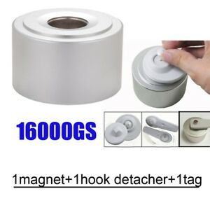 16000gs Clothing Security Tag Detacher Universal Magnetic Tag Remover Eas System