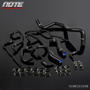 Silicone Radiator Coolant Hose Kit Fit For 99 06 Volkswagen Golf 1 8t Turbo Mk4