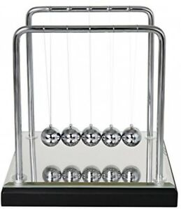 Bojin Mirror Newton s Cradle Balance Ball Science Kinetic Energy Sculpture
