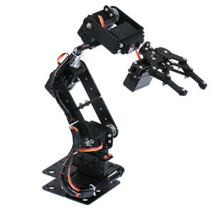 Diy Robot 6 degree Of Freedom Robot Mechanical Arm For Arduino Study Toy Set
