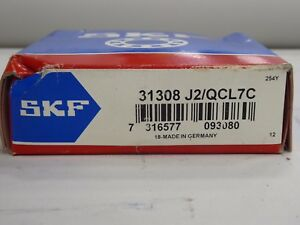 Skf 31308 J2 qcl7c Tapered Roller Bearing