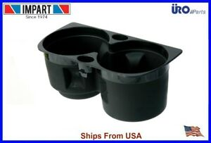 2003 2010 Porsche Cayenne Center Console Cup Holder Black New Uro 955 552 283 02