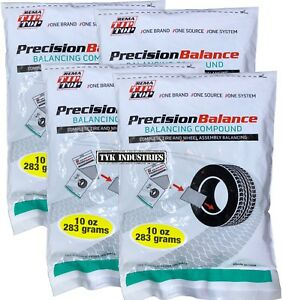 4 Rema Precisionbalance 10 Oz Tire Balance Beads Kits 40 Ounces Drop In Bags