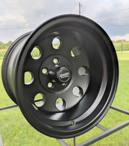 15x10 American Racing Baja Black Wheel 5 On 5 Chevy Gmc 2wd Truck W Lugs