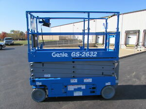 Genie Gs 2632 Electric Scissor Lift New