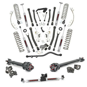 Jeep Wrangler Jku 6 Complete Suspension Lift Kit 2007 2011 4 door