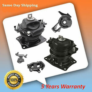 For 05 06 Honda Odyssey 3 5l Touring Ex l Engine Motor Trans Mount Set 5 M420