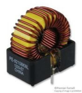 5x New Brand No 97k7114 Pulse Engineering Pe92108knl Inductor 100uh 3a 20