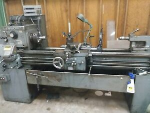 Leblond Metal Lathe Engine Lathe Aloris Dro Coolant Thread Turn Bore Taper Att