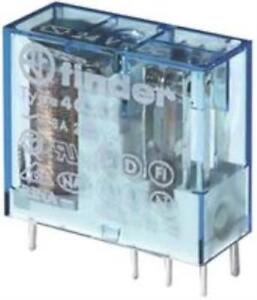 4x Finder 40 52 9 024 0001 Relay Power Dpdt 24vdc 15a Tht