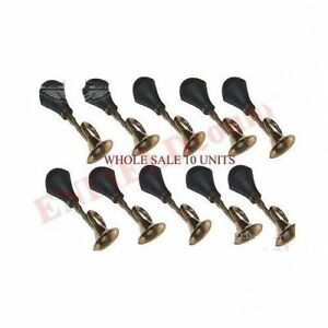 Wholesale Lot 10 Air Blow Horn Brass With Fitting Universal Fit Cars Bikes S2u