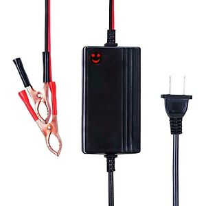 Car Battery Charger Maintainer Rv Truck Motorcycle 6v 12v Amp Volt Smart Trickle