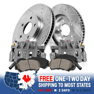Front Brake Calipers And Rotors Ceramic Brake Pads For Bmw 323i E46 Z4 2 5i
