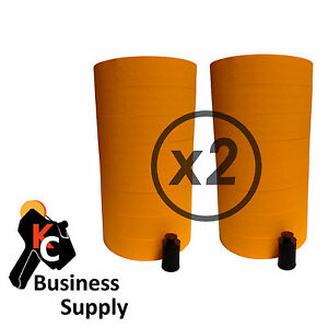 40 000 Labels For The Monarch 1131 2 Sleeve fl Orange