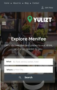 Local Website Business City Guide Professional Site Android App Yulizt com