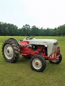 1953 Ford Golden Jubilee Tractor Fully Restored