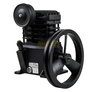 2hp Replacement Air Compressor Pump For Speedaire 4b222e 4b233c 4b232b Cast Iron
