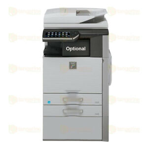 Sharp Mx 4110n Color Laser Multifunction Copier Printer Scanner 41 Ppm A3