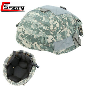 Airsoft Military Combat Fast Helmet Cover Hunting for MICH Fast 2002 Helmets ACU