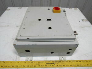 20x16x6 Jic Hinged Wall Mount Electrical Enclosure Cabinet W back Plate