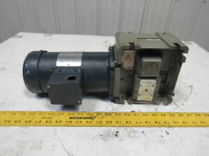 Torqube Type Qc 40 1 Ratio 43 75rpm 1 2hp 90vdc Rh Gear Motor Speed Reducer