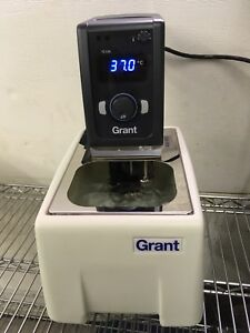 Grant Tc120 Heated Circulating Water Bath 220v Used Tested Excellent Condition