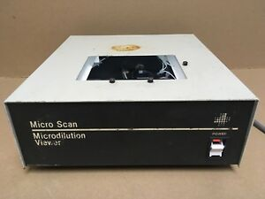 American Micro Scan Microdilution Viewer B1010 6 Used Tested Works Great