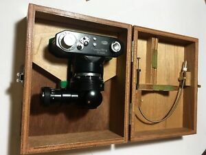 Olympus Pm 6 Microscope Camera Excellent Condition In Wooden Box Olympus Tokyo