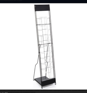 Portable Display Rack Case Portable Holder Literature 10 Rack Display