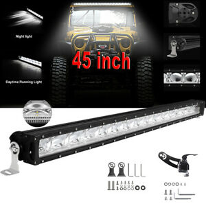 24 Inch 120w Led Light Bar Spot Flood Combo Work Boat Auto Ute Truck Suv Atv 22