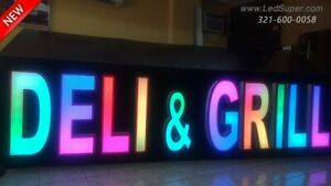 New Rgb Channel Letter 24 Magic Color Changing With Remote
