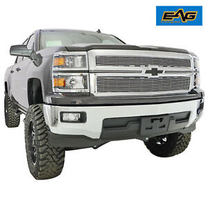 2014 2015 Chevy Silverado 1500 Billet Grille Chrome Front Grill Guard