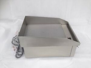 Electric Griddle Commercial Hotplate Burger Bacon Egg Fryer Grill 380 X 280