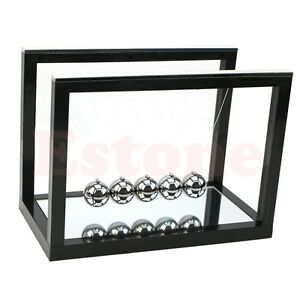 Newton s Cradle Steel Balance Ball Physics Science Pendulum Desk Smart Toy Gifts