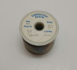 Alpha Metals 5 Rosin Core Solder Diameter 093