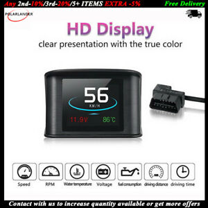 Hud Display Smart Driving Computer Obd 2 P10 2 2 Inch Heads Up Speedometer