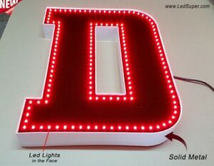 New Led Channel Letter 20 Waterproof And Dust Proof Custom Made