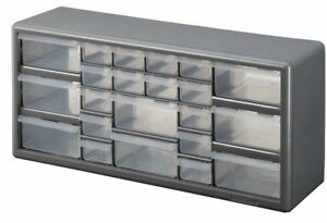 Stack on Dslb 22 22 Bin Plastic Drawer Parts Storage Organizer Cabinet