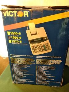 Victor Professional Heavy duty Printing Calculator 1560 6