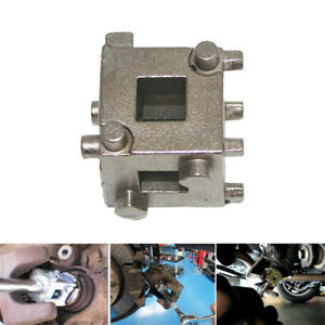 1x Car Vehicle Rear Disc Brake Piston Caliper Wind Back Cube Tool 3 8 Durable