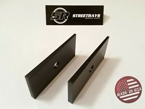Sr Axle Shims Truck Suv Pinion Angle Correction Leaf Block For 2 up Lift Black