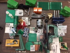 RCBS Rock Chucker II Reloading Set Plus Lots More Extras Barely Used