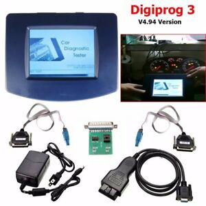 Main Unit Digiprog 3 V4 94 W obd2 St01 St04 Cable Odometer Correction Tool Ho